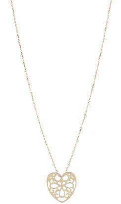 KARAT RUSH 14K Yellow Gold Heart Pendant Necklace
