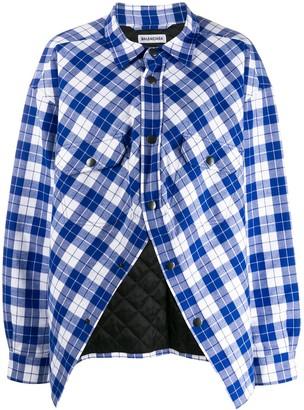 Balenciaga Cropped Swing Canadian Shirt