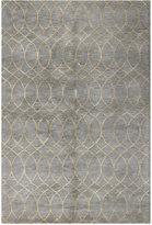 "Bashian Brothers Bashian Gramercy HG300 Grey 7'9"" x 9'9"" Area Rug"