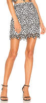 by the way. Adele Lace Mini Skirt