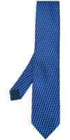 Lanvin square pattern tie - men - Silk - One Size