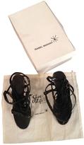 Isabel Marant Black Leather Heels