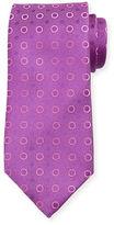 Charvet Dot-Print Silk Tie