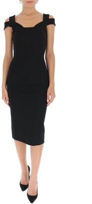 Dolce & Gabbana Bodycon Midi Dress