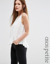 Asos Tiered Tank With Drop Armhole