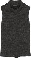 Thakoon Split-front merino wool sweater