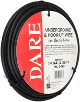 Dare Products Fencing Aluminum Leadout Cable 12.5Ga