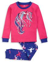 Petit Lem 2 Piece Circus Queen Top and Pajama Pants Set