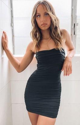 Beginning Boutique Crazy In Love Dress Black