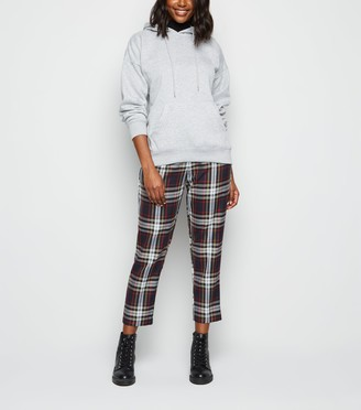New Look Check Slim Leg Trousers