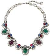Ben-Amun Velvet Glamour Multi-Color Ornate Crystal Necklace
