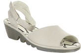 Fly London Women's Sandals 002 - Cloud Cupido Pato Ankle-Strap Leather Sandal - Women