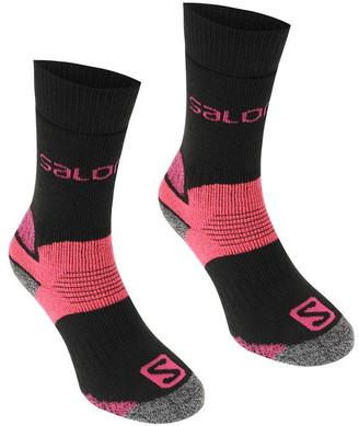 Salomon Heavyweight 2 Pack Walking Socks Ladies