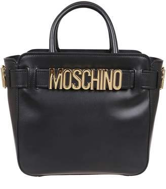 Moschino Black Leather Bag