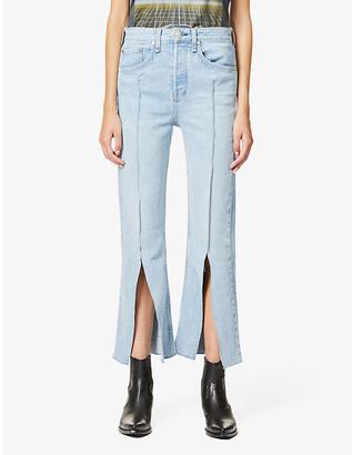 Rag & Bone X Bonum Japan Maya straight-leg high-rise jeans