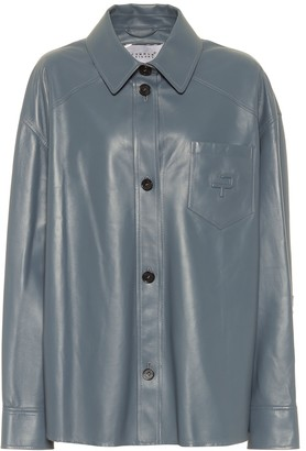 Common Leisure Leather shirt