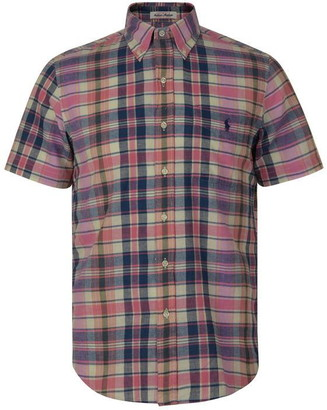 Polo Ralph Lauren Madras Short Sleeved Shirt