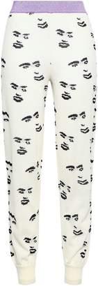 Missoni Intarsia Wool-blend Track Pants