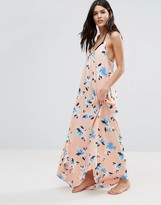 Vince Camuto Patterned Maxi Swing Beach Dress