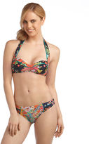 Nanette Lepore Floral Print Halter Swim Top