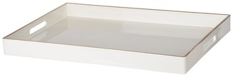 R16 Home Mimosa White Rectangle Tray