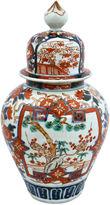 One Kings Lane Vintage Large Antique Japanese Imari Jar