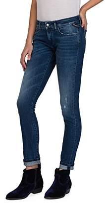 Replay Women's Raissa Skinny Jeans, (Mid Blue Denim 9), W28/L32