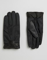 Ted Baker Gloves with Leather Cuff