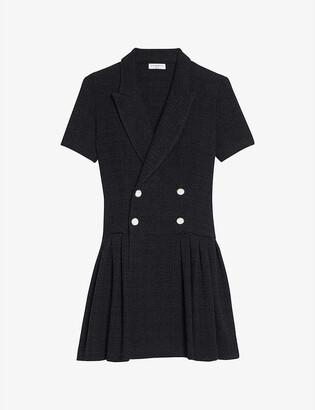 Sandro Rossa cotton-blend midi dress