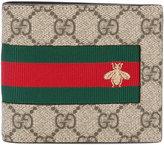 Gucci Web GG Supreme wallet - men - Polyurethane - One Size