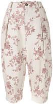 Aleksandr Manamis floral print cropped trousers
