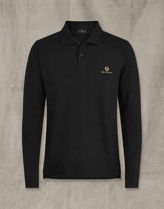 Belstaff LONG SLEEVED POLO Black