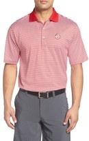 Peter Millar 'Ohio State University' Classic Stripe Golf Polo