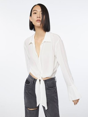 Frame Imaan x Tie Up Button Up