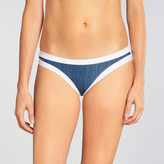 Seafolly Block Party Denim Contrast Banding Hipster