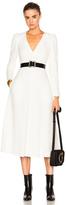 Saint Laurent Lace V Neck Dress