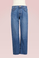 Current/Elliott Current Elliott The Original Straight-Leg Jeans