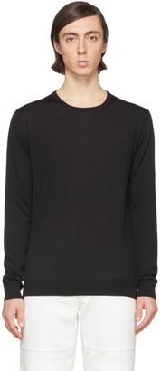Lanvin Black Wool Sweater