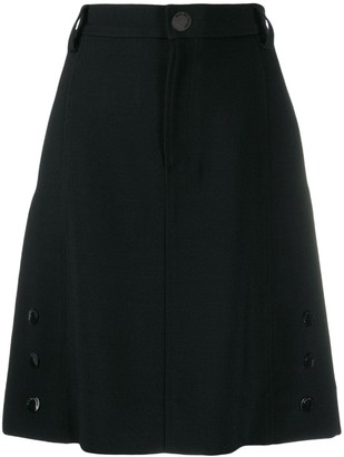 See by Chloe high waisted tailored skirt