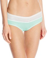 Warner's Warners Women's No Pinching No Problems Cotton with Lace Hipster Panty