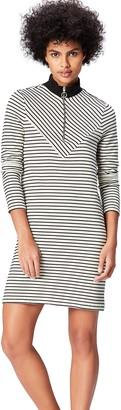 Find. Amazon Brand Women's Striped Jersey Dress
