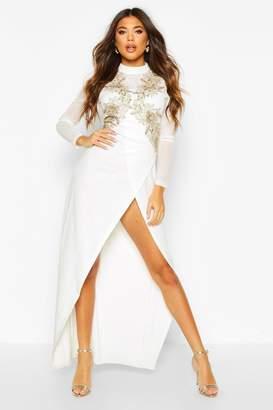 boohoo Embellished Maxi Dress