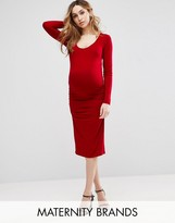 Isabella Oliver Eldon Maternity Midi Dress