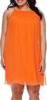 My Michelle Sleeveless A-Line Dress - Juniors Plus
