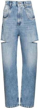 Maison Margiela Distressed Straight-Leg Jeans