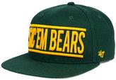 '47 Baylor Bears On Track Snapback Cap