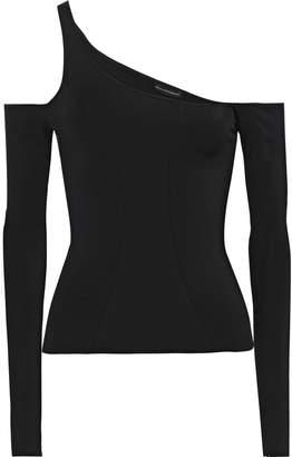 Kiki de Montparnasse Cutout Stretch-jersey Top