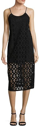Tibi Aleyda Sleeveless Cutout Dress