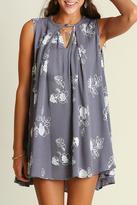 Umgee USA Sleeveless Keyhole Dress