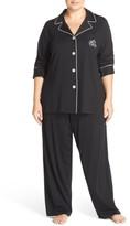 Lauren Ralph Lauren Plus Size Women's Knit Pajamas